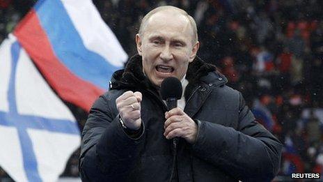 Rusia, Putin y el poder